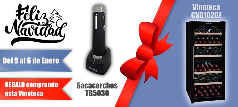 Black Friday Vinotecas Vitempus CVD102DZ