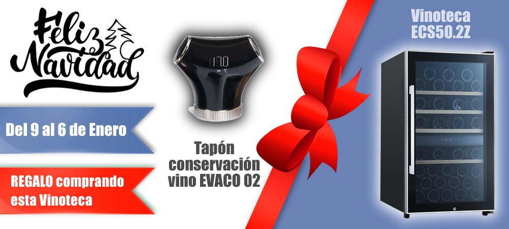 Black Friday Vinotecas Vitempus ECS502Z
