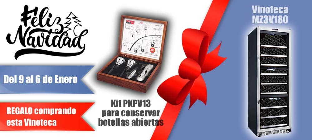Black Friday Vinotecas Vitempus MZ3V180