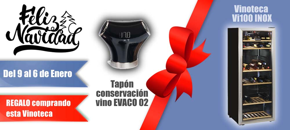 Black Friday Vinotecas Vitempus Vi100 INOX