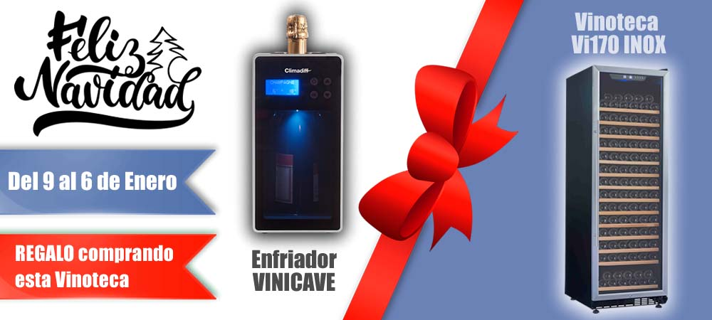 Black Friday Vinotecas Vitempus Vi170 INOX