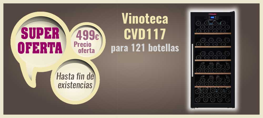 Super oferta vinoteca CVD117 barata