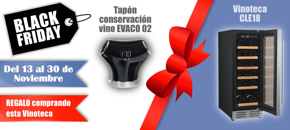 Black Friday Vinotecas Vitempus CLE18