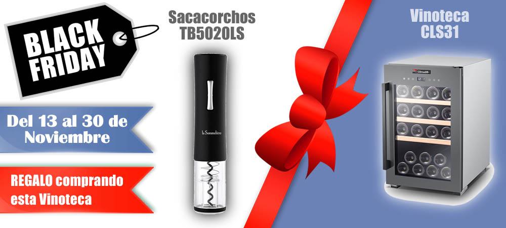 Black Friday Vinotecas Vitempus CLS31