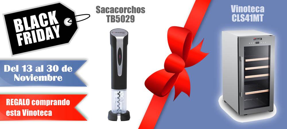 Black Friday Vinotecas Vitempus CLS41MT