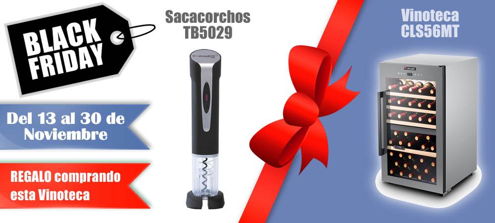 Black Friday Vinotecas Vitempus CLS56MT