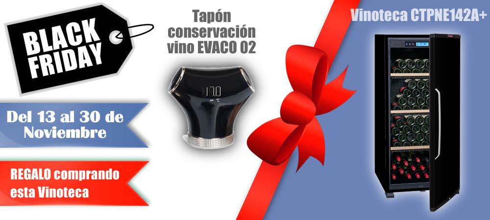 Black Friday Vinotecas Vitempus CTPNE142A+