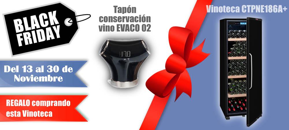 Black Friday Vinotecas Vitempus CTPNE186A+