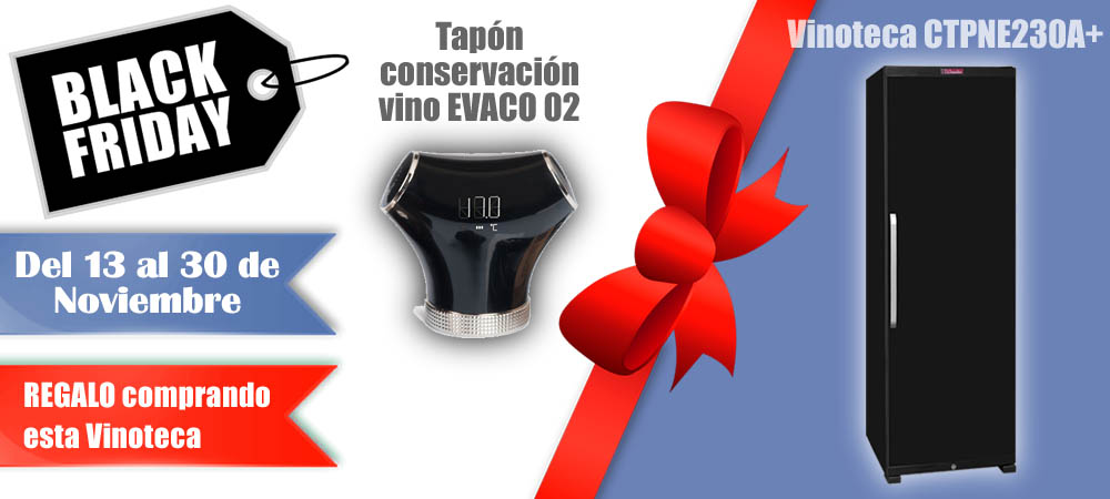 Black Friday Vinotecas Vitempus CTPNE230A+