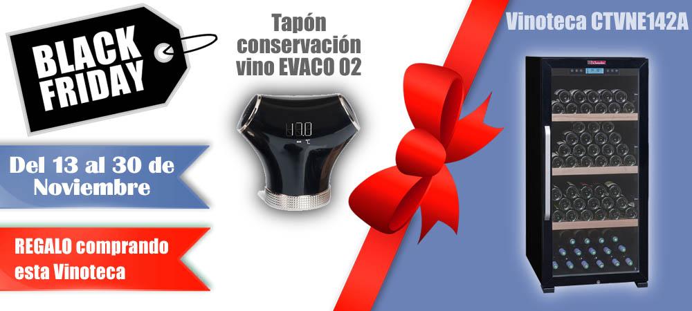 Black Friday Vinotecas Vitempus CTVNE142A