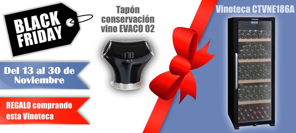 Black Friday Vinotecas Vitempus CTVNE186A