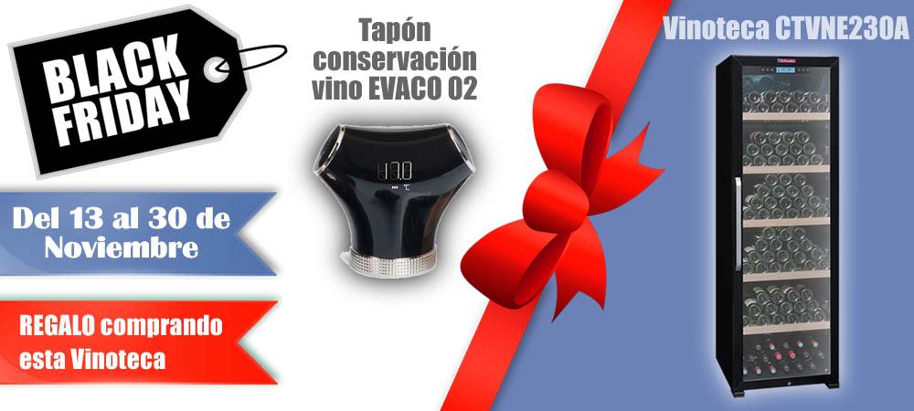 Black Friday Vinotecas Vitempus CTVNE230A