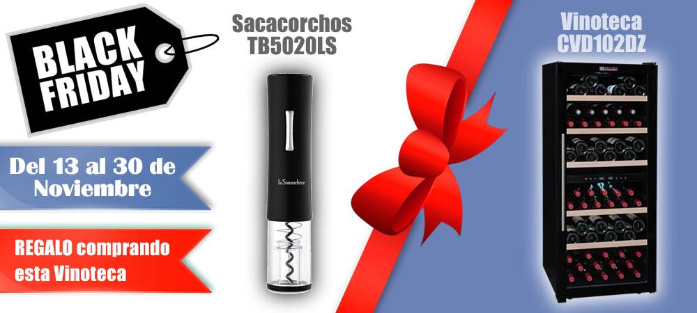 Black Friday Vinotecas Vitempus CVD102DZ
