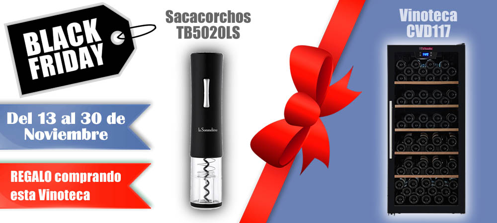 Black Friday Vinotecas Vitempus CVD117