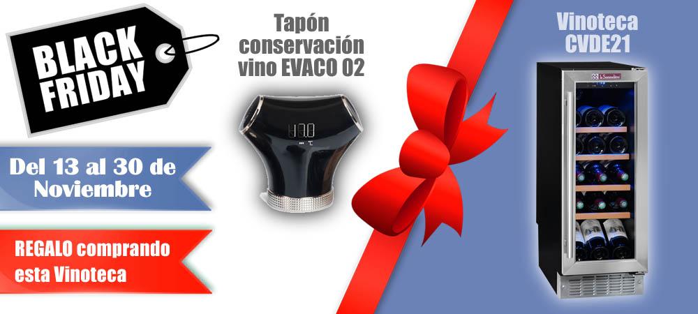 Black Friday Vinotecas Vitempus CVDE21