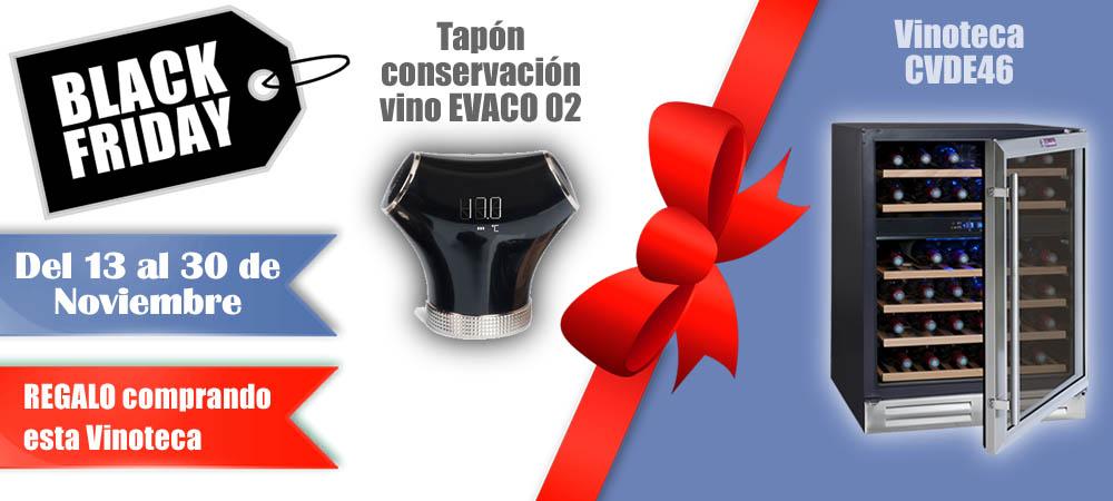 Black Friday Vinotecas Vitempus CVDE46