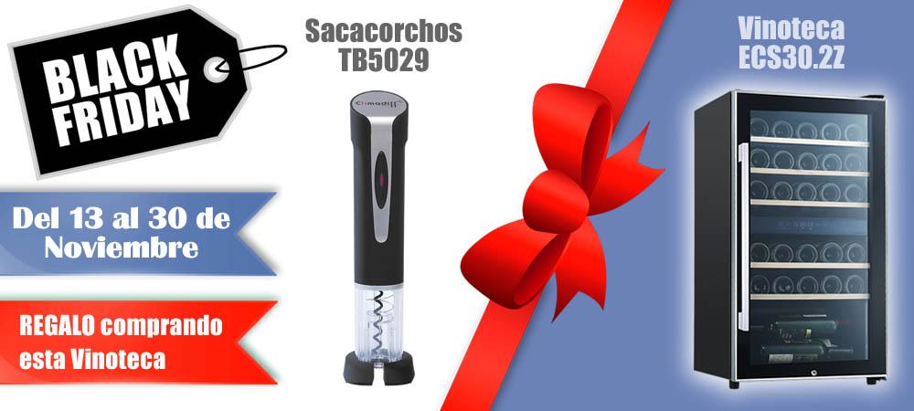 Black Friday Vinotecas Vitempus ECS30.2Z