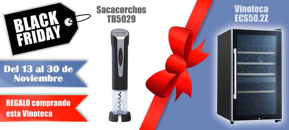 Black Friday Vinotecas Vitempus ECS50.2Z