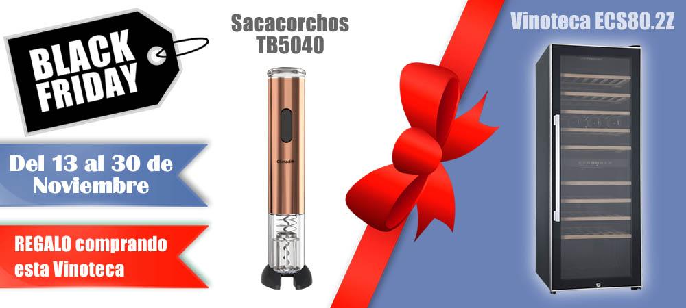 Black Friday Vinotecas Vitempus ECS80.2Z