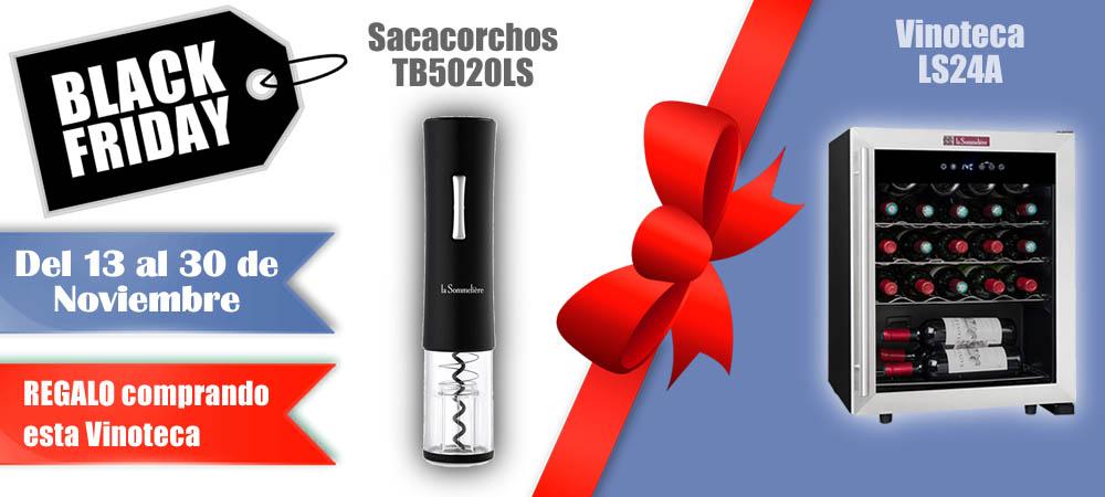 Black Friday Vinotecas Vitempus LS24A