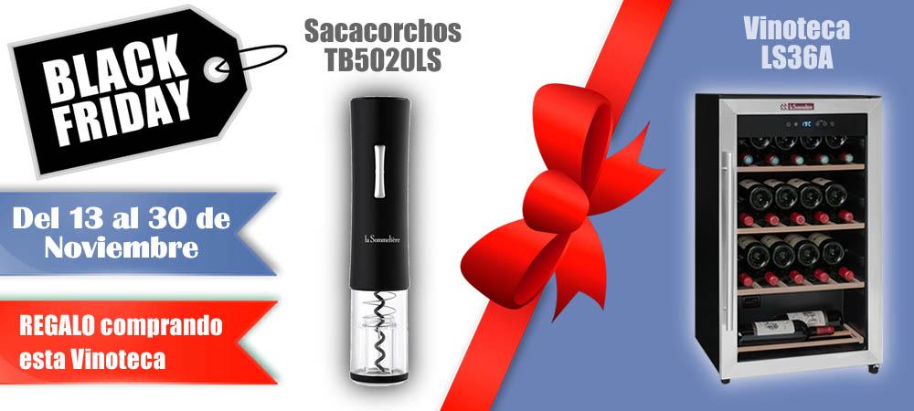 Black Friday Vinotecas Vitempus LS36A