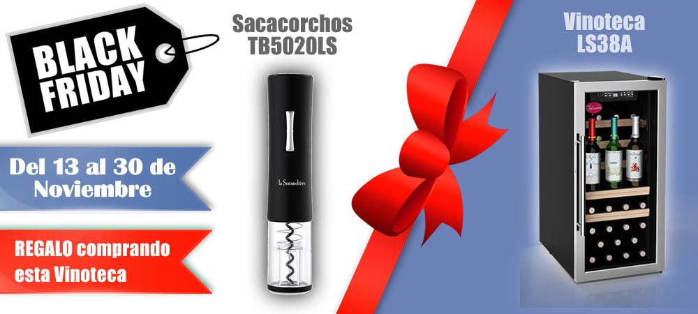 Black Friday Vinotecas Vitempus LS38A