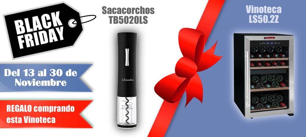 Black Friday Vinotecas Vitempus LS50.2Z