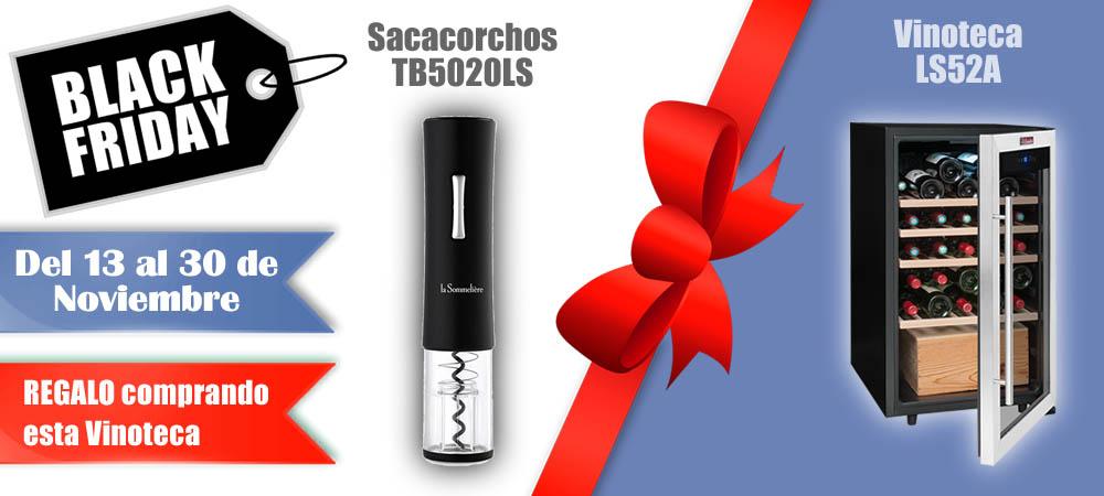 Black Friday Vinotecas Vitempus LS52A