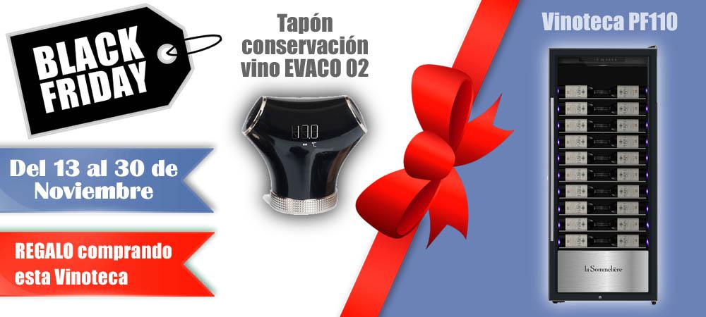 Black Friday Vinotecas Vitempus PF110