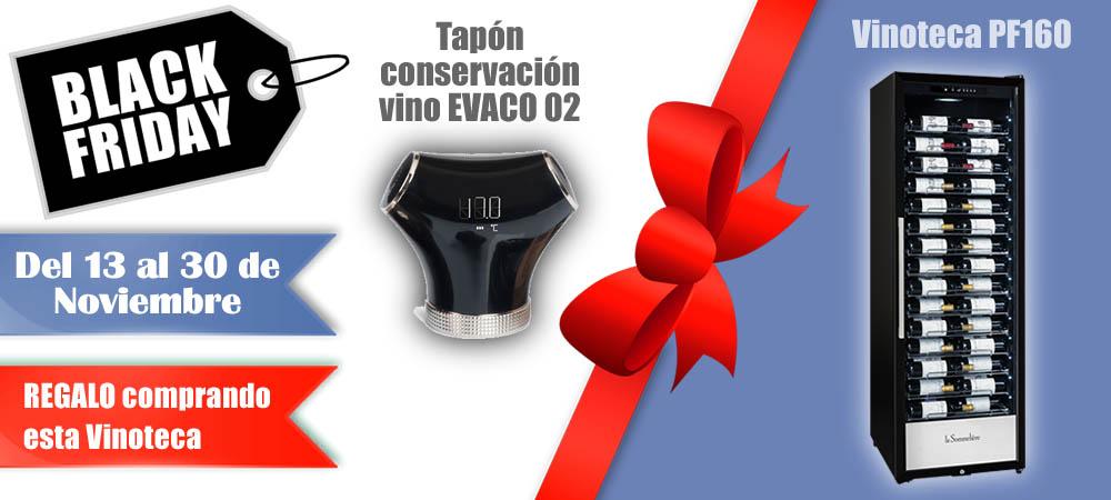 Black Friday Vinotecas Vitempus PF160