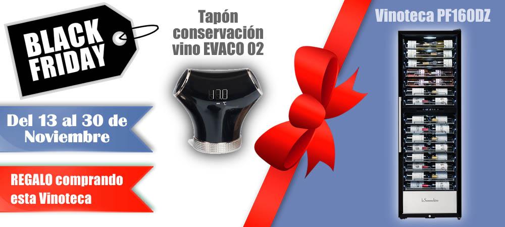 Black Friday Vinotecas Vitempus PF160DZ