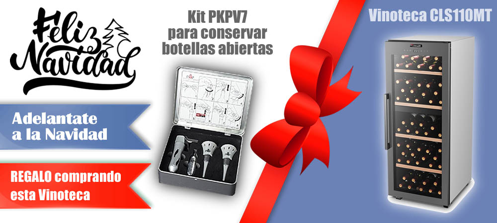 Regalos Navidad Vinotecas Vitempus CLS110MT