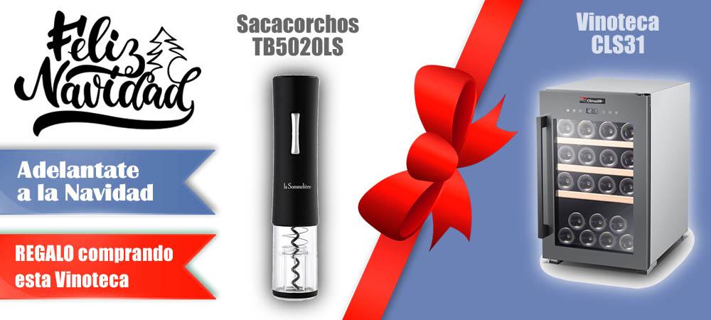 Regalos Navidad Vinotecas Vitempus CLS31