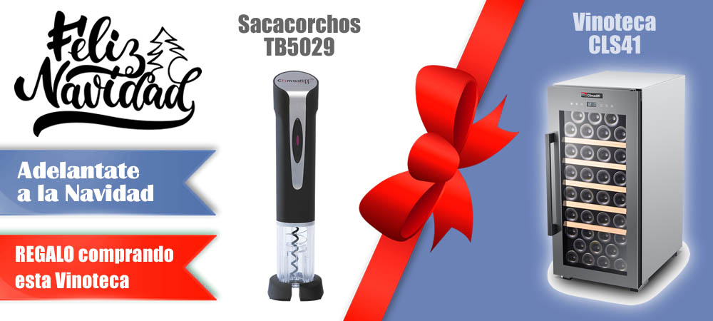 Regalos Navidad Vinotecas Vitempus CLS41