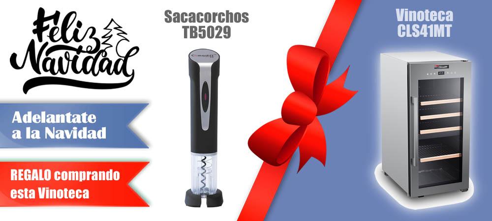 Regalos Navidad Vinotecas Vitempus CLS41MT