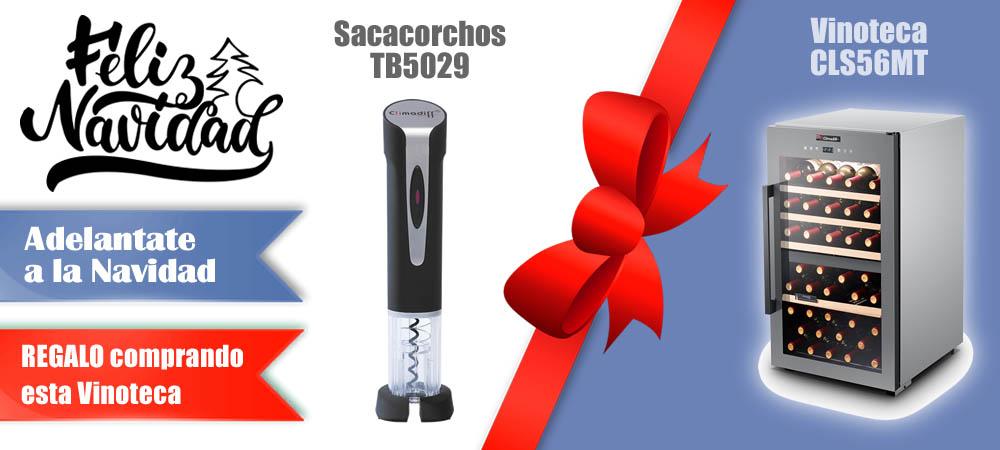 Regalos Navidad Vinotecas Vitempus CLS56MT
