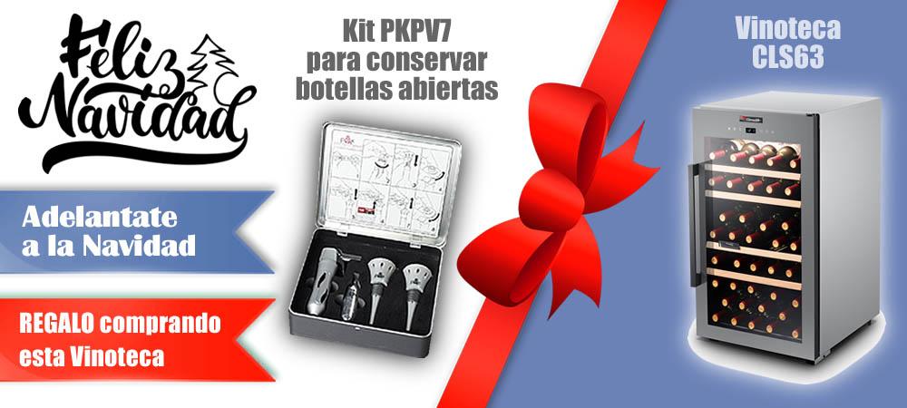 Regalos Navidad Vinotecas Vitempus CLS63