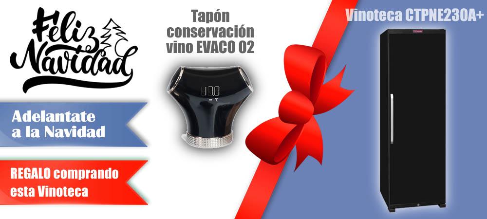 Regalos Navidad Vinotecas Vitempus CTPNE230A+