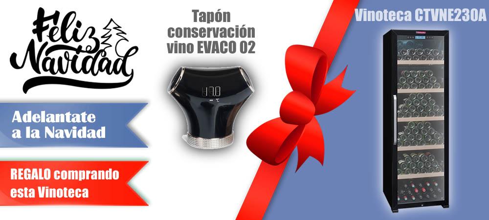Regalos Navidad Vinotecas Vitempus CTVNE230A