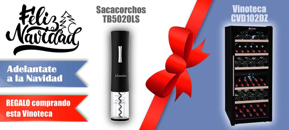 Regalos Navidad Vinotecas Vitempus CVD102DZ
