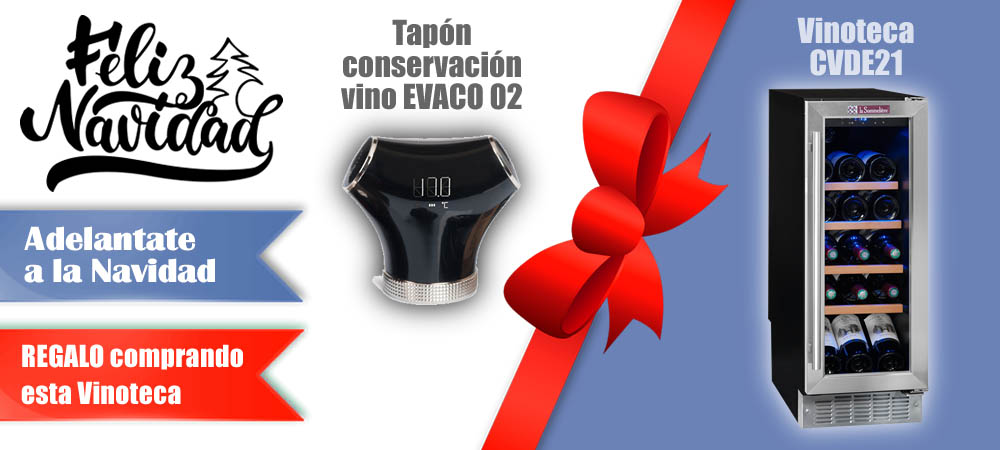 Regalos Navidad Vinotecas Vitempus CVDE21