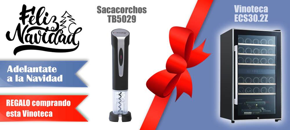 Regalos Navidad Vinotecas Vitempus ECS30.2Z