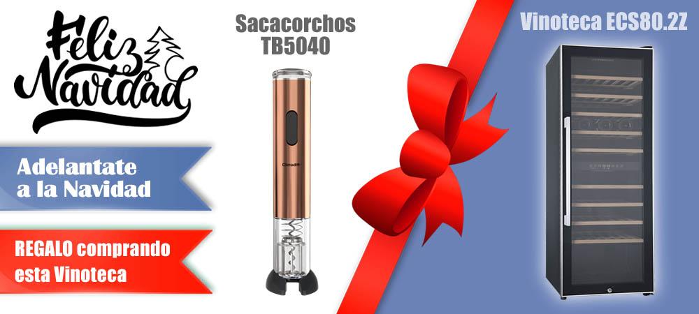 Regalos Navidad Vinotecas Vitempus ECS80.2Z