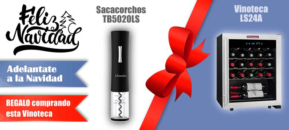 Regalos Navidad Vinotecas Vitempus LS24A
