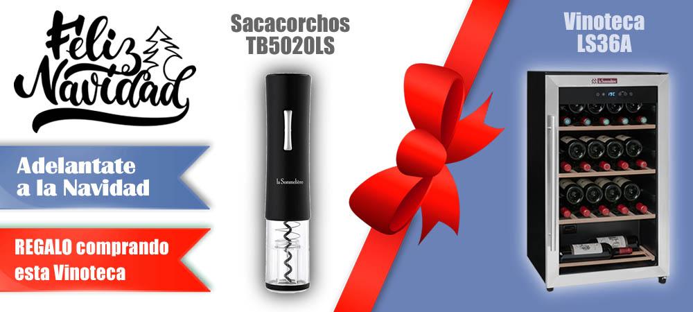 Regalos Navidad Vinotecas Vitempus LS36A