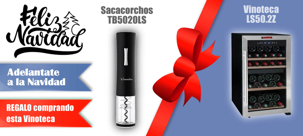 Regalos Navidad Vinotecas Vitempus LS50.2Z
