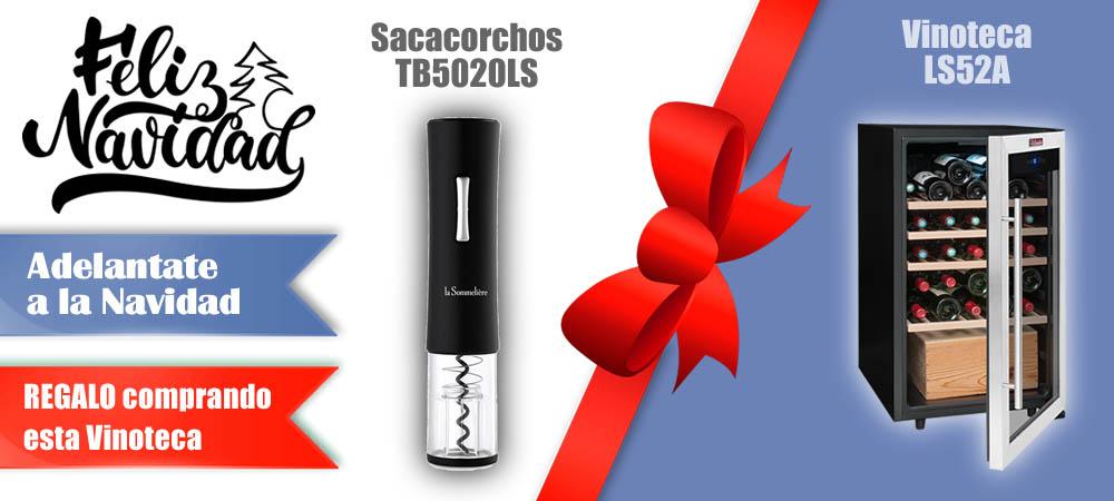 Regalos Navidad Vinotecas Vitempus LS52A