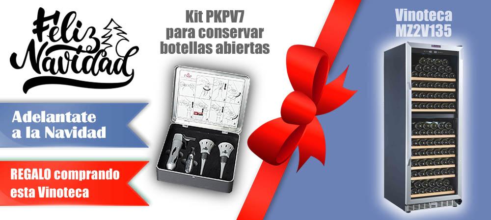 Regalos Navidad Vinotecas Vitempus MZ2V135