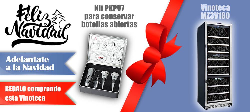 Regalos Navidad Vinotecas Vitempus MZ3V180