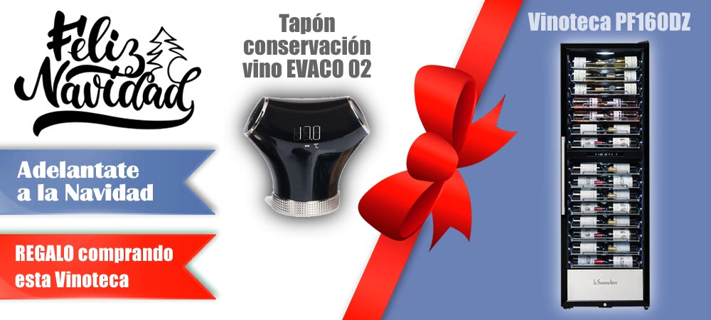 Regalos Navidad Vinotecas Vitempus PF160DZ